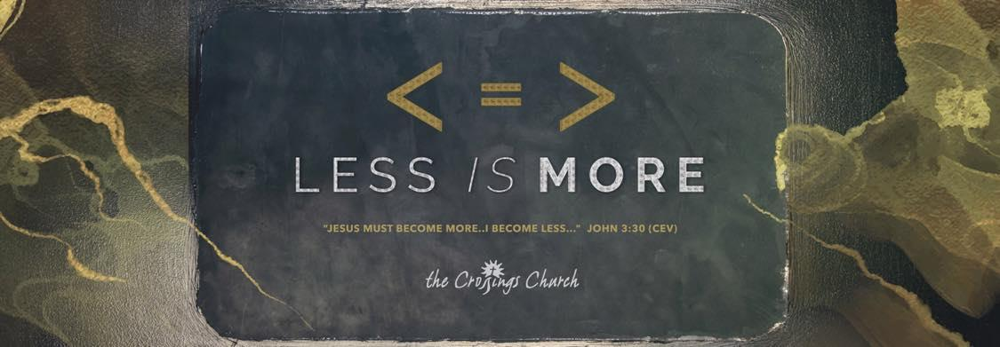 less is more sermon series collinsville il awesome church